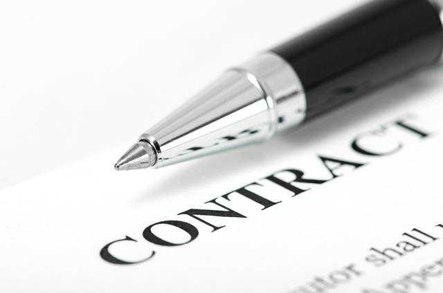 Credit without permanent contract - collateral